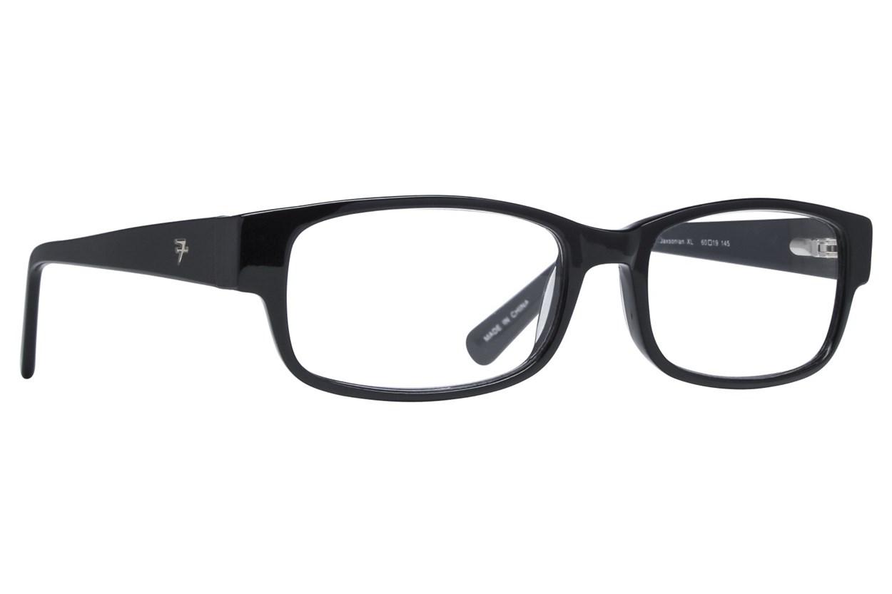 Fatheadz Jaxonian Reading Glasses  - Black