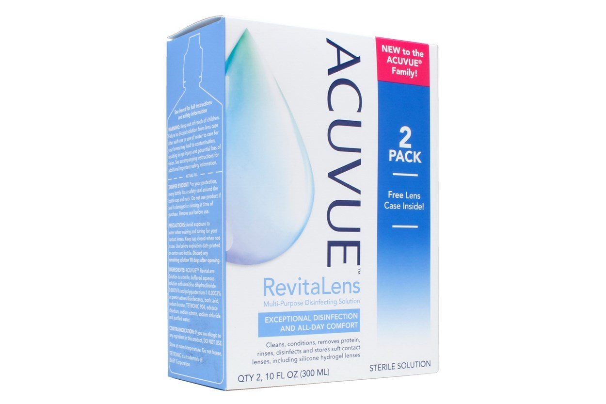 Acuvue RevitaLens OcuTec Multi-Purpose Disinfecting Solution Twin Pack SolutionsCleaners