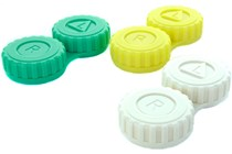 General 12-Pack Screw-Top Contact Lens Case